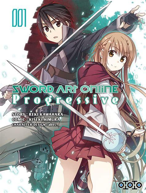 sword art  progressive manga news