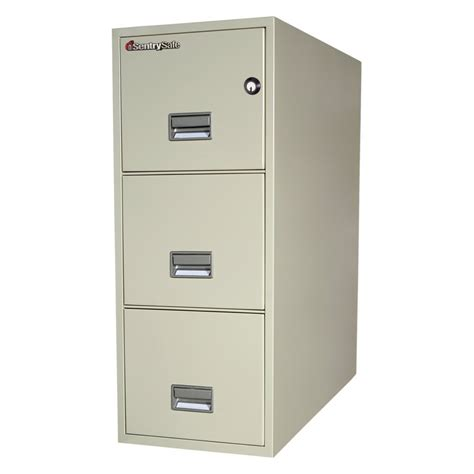 Safe Filing Cabinet Walmart by Sentry 3t3131 3 Drawer 31 Quot Vertical File