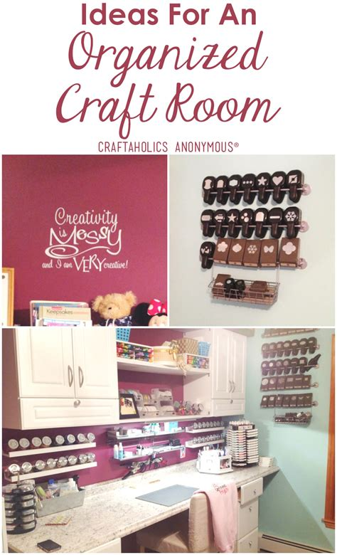 Craftaholics Anonymous®  Craft Room Tour With April Walters