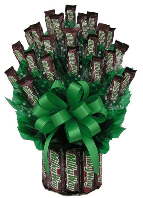milky  minis gift bouquet candy bouquet