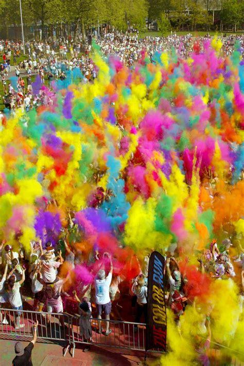 Marathon Man The Colour Run's 5k Of Paintedblasted Bliss