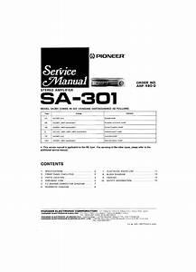 Pioneer Sa-301