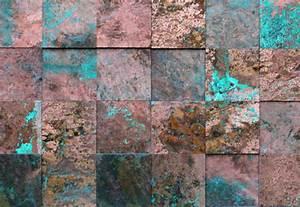 Kupfer Grüne Patina : wandpaneele metall kupfer oxidiert princkeln t rkis material id ~ Markanthonyermac.com Haus und Dekorationen
