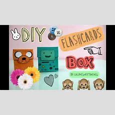 Diy Flashcards Box 📦 Youtube