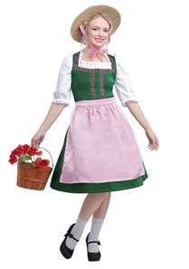 What Countries Celebrate Halloween by Oktoberfest Beauty Costume For Women
