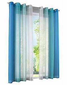Gardinen Mit ösen : blau transparente gardinen vorh nge und weitere gardinen vorh nge g nstig online kaufen ~ Indierocktalk.com Haus und Dekorationen