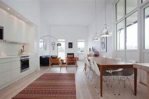 Bilder Skandinavischer Stil : dachwohnung im skandinavischen stil ~ Lizthompson.info Haus und Dekorationen