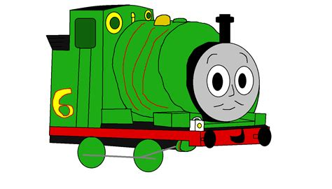 percy the small engine by me by enginenumber14 on deviantart