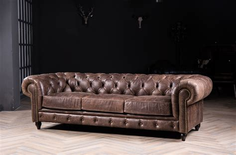 vintage chesterfield leather sofa chesterfield sofa sofa with vintage leather for