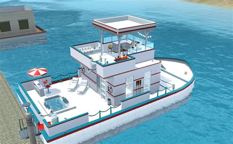 Houseboats Sims 3 by Entertainment World My Sims 3 Prince Of Tides