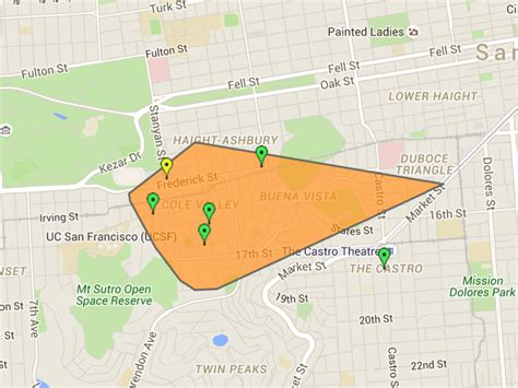 blackout affects cole valley corona heights residents