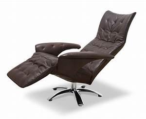 Fauteuil Pivotant Cuir : fauteuil inclinable en cuir et fauteuil pivotant ~ Teatrodelosmanantiales.com Idées de Décoration