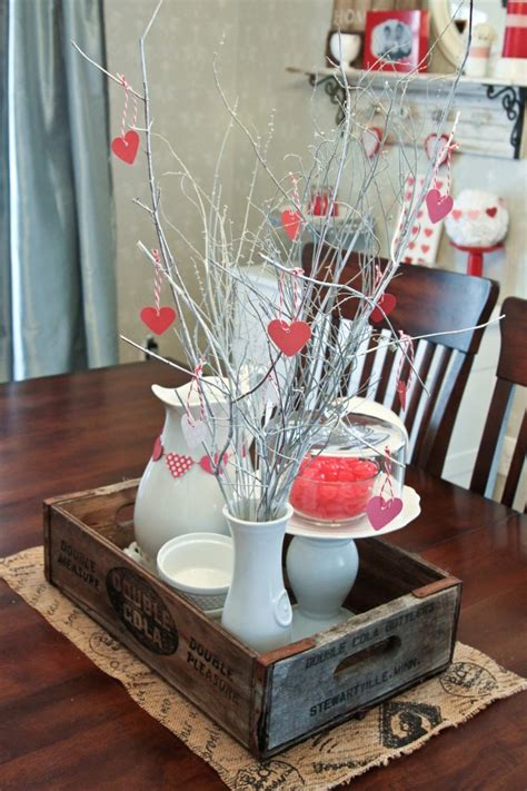 romantic diy home decor project  valentines day
