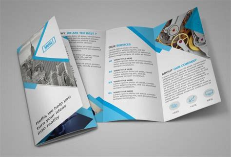 Brochure Mockup Template Free by 100 High Quality Free Flyer And Brochure Mock Ups 2018