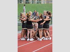 B Team Cheerleading Photos