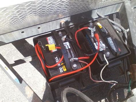 charge rv batteries  tow vehicle alternator