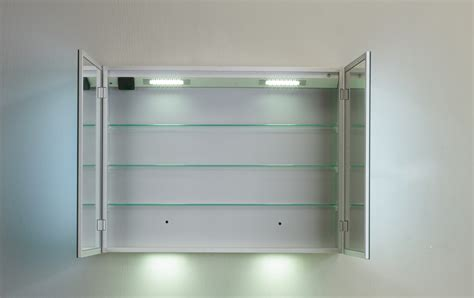 eviva mirror medicine cabinet 36 inches with led lights