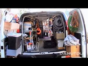Construction Work Van Shelves, Layout and Organization