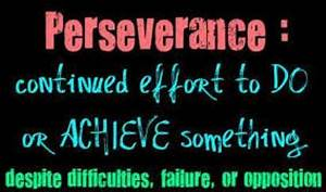 Quotes From The Word Perseverance. QuotesGram