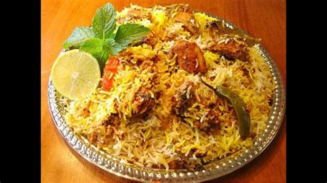 chicken biryani south indian recipes youtube