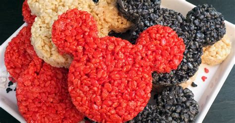 mickey mouse rice krispie treats  sisters