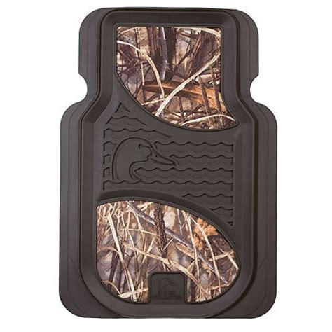 ducks unlimited max 4 floor mats universal front floor mats ducks unlimited camo gander