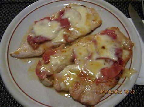 recette d 39 escalope de dinde jambon de parme mozzarella