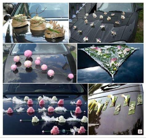 des idees pour la decoration de voiture de mariage