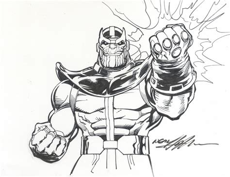 marvel comics of the 1980s thanos by neal adams