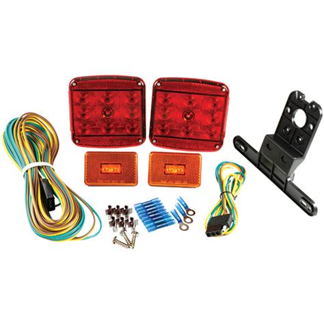 grote submersible led trailer lights grote industries submersible led trailer lighting kit with