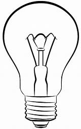 Lamp Bulb Coloring Pages Electric Colornimbus sketch template
