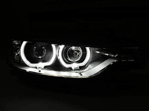 bmw halo lights bmw projector headlights with halo rings bimmian