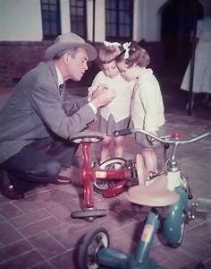 Jimmy Stewart and twin daughters   Important Stuff   Pinterest