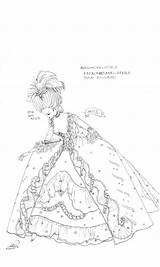 Manga Marie Antoinette Coloring Drawing Reiko Shimizu Sketch Sheets Anime Mangapark sketch template