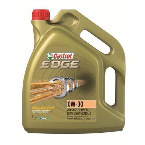 castrol edge  titanium fst huile moteur voiture