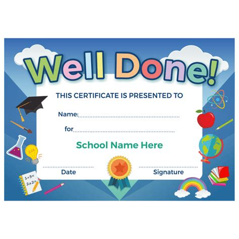 primary certificate