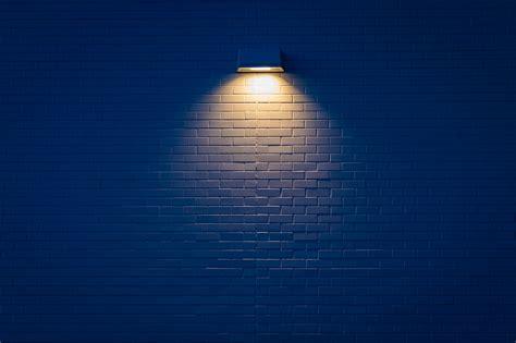 wallpaper  lamp wall brick light
