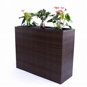 Blumenkübel Als Raumteiler : xxxl pflanztrog polyrattan als raumteiler real ~ Michelbontemps.com Haus und Dekorationen
