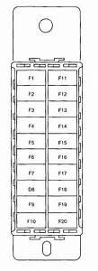 Daewoo Nexia  2009 - 2012  - Fuse Box Diagram