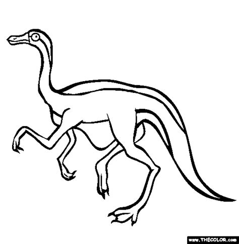 Gallimimus Kleurplaat by Coloring Pages Starting With The Letter G