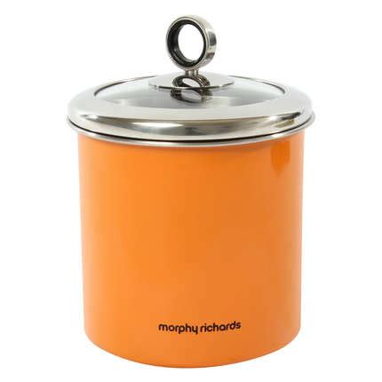 large kitchen canisters morphy richards 1 7 litre stainless steel large kitchen storage jar canister
