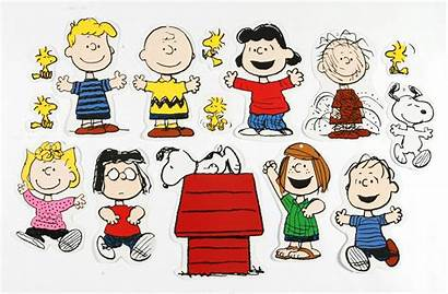 Peanuts Characters Snoopy Charlie Clip Classic Brown