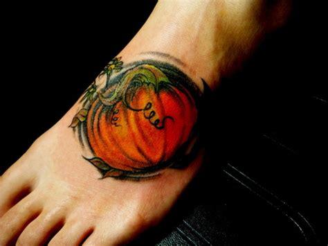 cute pumpkin tattoos