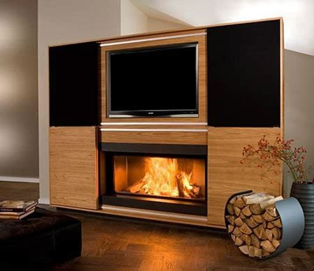 entertainment system with fireplace vok s home theater chimney system is a unique display for 7069