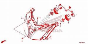 Headlight Speedometer  2  For Honda Forza 300 Abs 2017