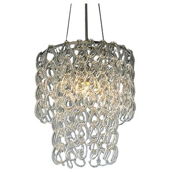Glass Chain Chandelier by Glass Chain Chandelier Decorist