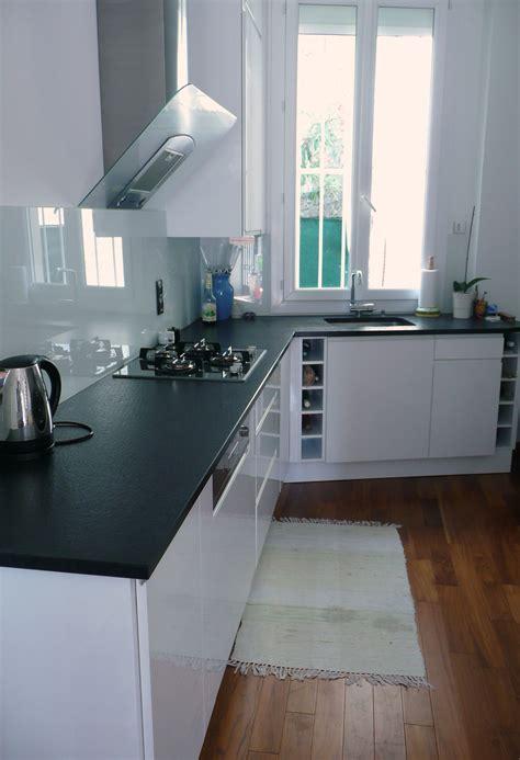 cuisine carrelage blanc carrelage cuisine blanc et noir gallery of carrelage