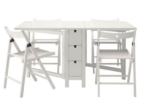 table chaises pliantes ikea chaque cm 178 compte quand on habite un studio ou un petit appartement