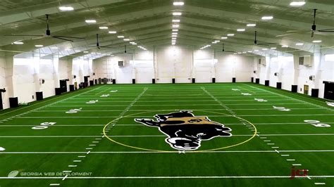multipurpose indoor facility overview colquitt county packer football youtube