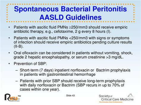 Aasld Guidelines Sbp Prophylaxis